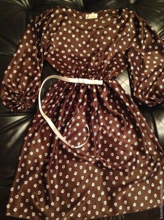 превосходное шелковое платье