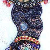 Украшения ручной работы. Ярмарка Мастеров - ручная работа Женщина из Эфиопии...(БроньИрина). Handmade.