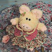 Мягкие игрушки ручной работы. Ярмарка Мастеров - ручная работа Свинюшка Хрюсинья. Handmade.