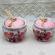 Для дома и интерьера handmade. Livemaster - original item A pair of retro style flower pots. Handmade.