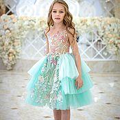 Платья ручной работы. Ярмарка Мастеров - ручная работа Платье на девочку. Handmade.