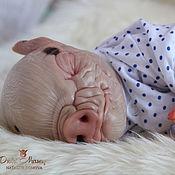 Куклы и игрушки ручной работы. Ярмарка Мастеров - ручная работа Джордж (братик Свинки Пеппы). Handmade.