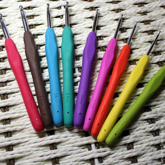 набор крючков для вязания купить в интернет магазине на ярмарке