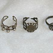 Материалы для творчества ручной работы. Ярмарка Мастеров - ручная работа основа для кольца. Handmade.