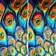 """""""Перо Жар-Птицы"""", Abstract Art handmade, St. Petersburg, Фото №1"""