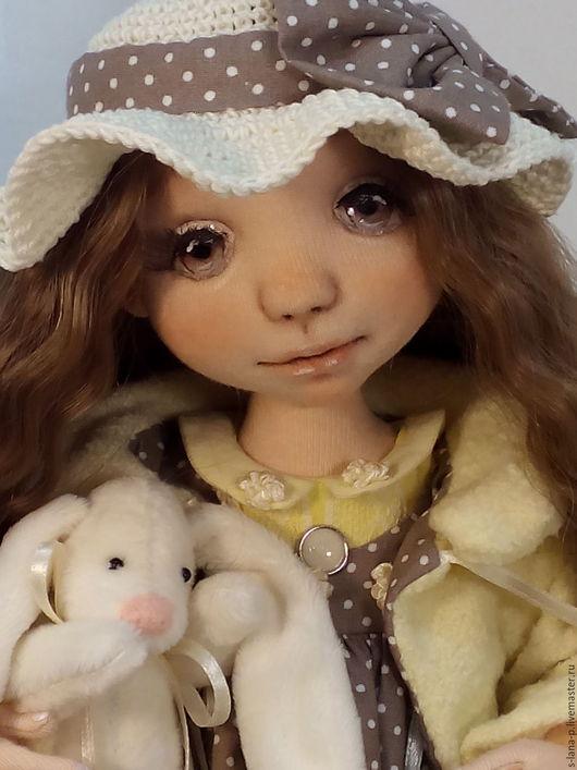 Коллекционные куклы ручной работы. Ярмарка Мастеров - ручная работа. Купить Авторская интерьерная кукла.. Handmade. Желтый, кукла авторская