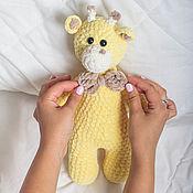 Куклы и игрушки handmade. Livemaster - original item Plush Giraffe. Handmade.