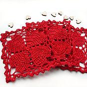 Сувениры и подарки handmade. Livemaster - original item Valentine`s stands for hot food. Handmade.