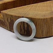 Украшения handmade. Livemaster - original item 17.25 R. Light Jade Ring (19). Handmade.