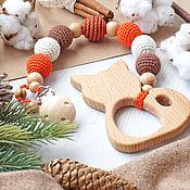 Куклы и игрушки handmade. Livemaster - original item Rodent on the clip