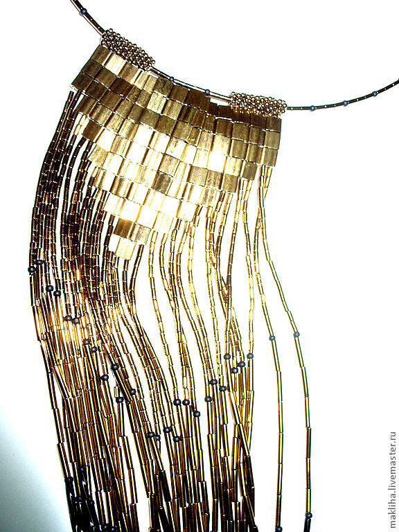 Tie-necklace 'GOLDY', Necklace, Moscow,  Фото №1