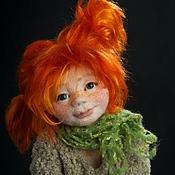 Куклы и игрушки ручной работы. Ярмарка Мастеров - ручная работа Авторская войлочная кукла Пеппи. Handmade.