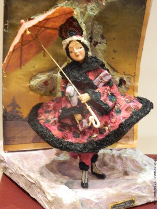 Коллекционные куклы ручной работы. Ярмарка Мастеров - ручная работа. Купить Vogue. Декабрь. Handmade. Кукла ручной работы