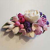 Украшения ручной работы. Ярмарка Мастеров - ручная работа Брошь -бутоньерка с ягодами. Полимерная глина. Handmade.