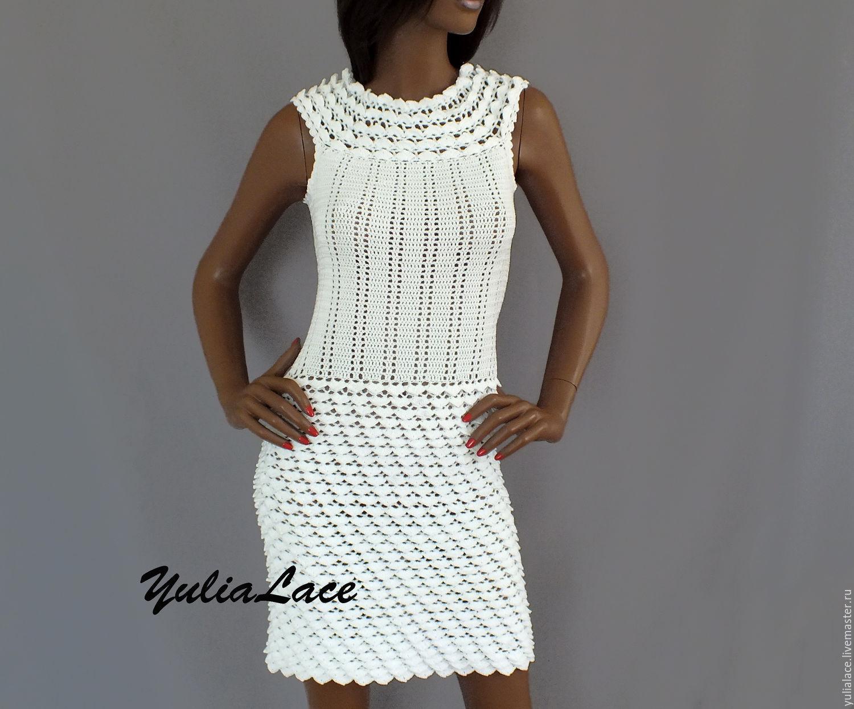 Купить Вязанное Платье