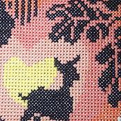 """Картины и панно ручной работы. Ярмарка Мастеров - ручная работа Картина вышитая крестиком """"Волшебное Яблоко"""". Handmade."""
