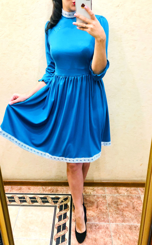 Платье с пышной юбкой, Платья, Москва, Фото №1