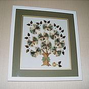 Картины и панно ручной работы. Ярмарка Мастеров - ручная работа Вышивка крестом Денежное дерево. Handmade.