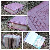 Блокноты ручной работы. Ярмарка Мастеров - ручная работа Он-лайн урок по созданию кулинарной книги. Handmade.