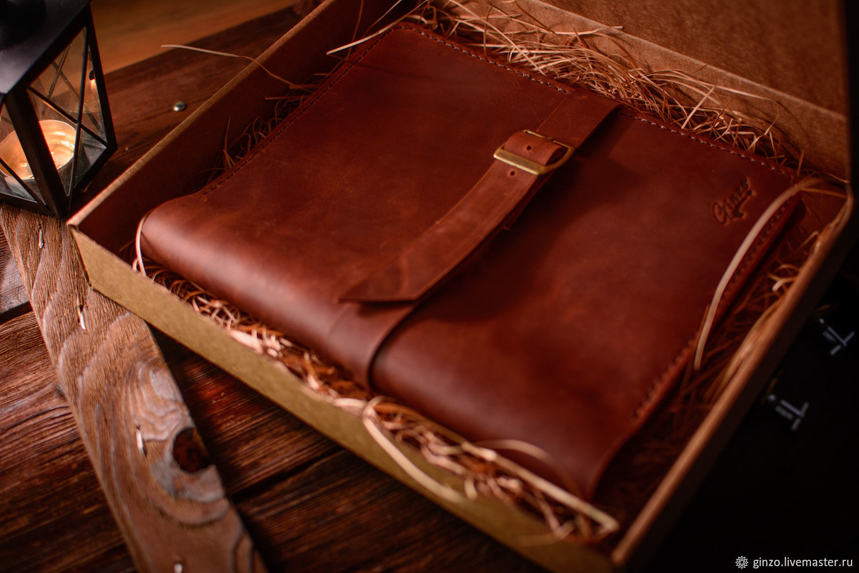 Кожаный блокнот-органайзер для ipad mini на пружине, Блокноты, Тула,  Фото №1