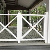 Для дома и интерьера ручной работы. Ярмарка Мастеров - ручная работа Ограждения из дерева для террас и балконов. Handmade.