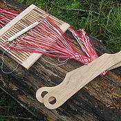 Материалы для творчества ручной работы. Ярмарка Мастеров - ручная работа Скоба для тканья поясов. Handmade.