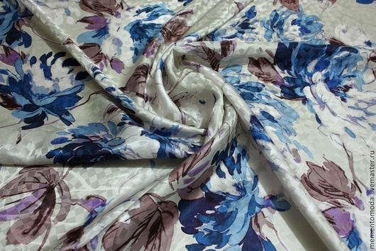 Шитье ручной работы. Ярмарка Мастеров - ручная работа. Купить Шелк натуральный. Handmade. Итальянские ткани, шелк, шелковое платье