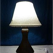 Для дома и интерьера ручной работы. Ярмарка Мастеров - ручная работа Светильник деревянный, настольная лампа. Handmade.