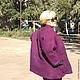 """Верхняя одежда ручной работы. Заказать валяная  куртка ручной работы (по мотивам """"ДУОМО""""). Галина Сухочева (GALA). Ярмарка Мастеров."""