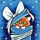 """Сумки и аксессуары ручной работы. Ярмарка Мастеров - ручная работа. Купить Подарочная сумочка для подарков  """"Лучший твой подарочек это - Я!"""". Handmade."""
