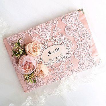 Свадебный салон ручной работы. Ярмарка Мастеров - ручная работа Книга для пожеланий гостевая книга. Handmade.