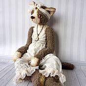 """Куклы и игрушки ручной работы. Ярмарка Мастеров - ручная работа Кошка """"Грей"""". Handmade."""