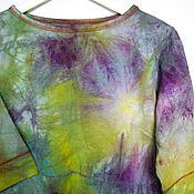 """Одежда ручной работы. Ярмарка Мастеров - ручная работа Джемпер """"Луга и травы """". Handmade."""