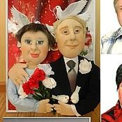 Куклы и игрушки ручной работы. Ярмарка Мастеров - ручная работа Подарок на годовщину свадьбы Портретные куклы. Handmade.