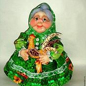 Для дома и интерьера ручной работы. Ярмарка Мастеров - ручная работа Кукла на чайник - Бабушка. Handmade.