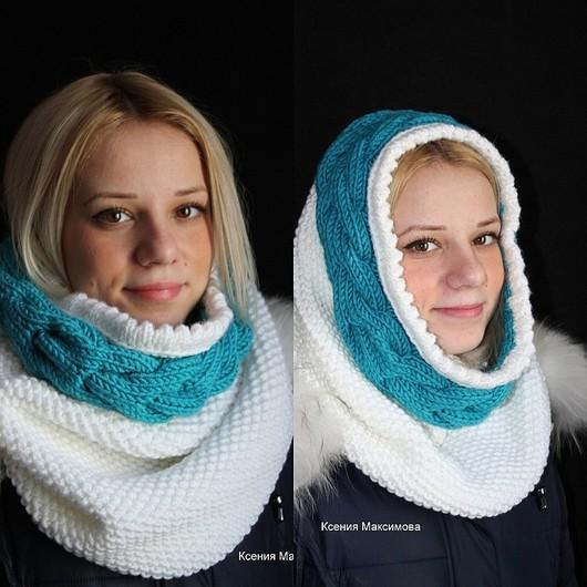 """Шали, палантины ручной работы. Ярмарка Мастеров - ручная работа. Купить снуд """"Юлия"""" авт. работа шарф - хомут. Handmade."""