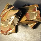 """Мыло ручной работы. Ярмарка Мастеров - ручная работа Мыло с нуля""""8 глин 100 натуральное с 8 космет глинами и шелком. Handmade."""