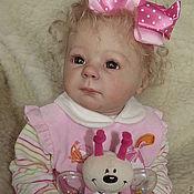 Куклы и игрушки ручной работы. Ярмарка Мастеров - ручная работа кукла реборн Ксюша. Handmade.