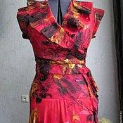 """Одежда ручной работы. Ярмарка Мастеров - ручная работа Платье """"Красная роза"""". Handmade."""