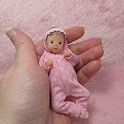 Куклы Reborn ручной работы. Ярмарка Мастеров - ручная работа Силиконовая малышка 10см. Handmade.
