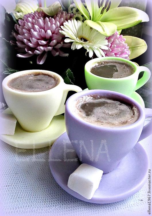 Мыло ручной работы. Ярмарка Мастеров - ручная работа. Купить Мыло Чашка кофе. Handmade. Мыло, мыльная чашка