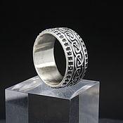 Украшения handmade. Livemaster - original item Eternity ring made of 925 sterling silver DS0085. Handmade.
