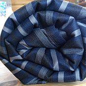 Одежда ручной работы. Ярмарка Мастеров - ручная работа Слинг шарф синий 4,2м,  4,7м и 5,2 метра. Handmade.
