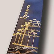 Аксессуары handmade. Livemaster - original item Tie the Fulfillment of desires, original painting. New.. Handmade.