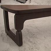 Для дома и интерьера handmade. Livemaster - original item Triangular solid cedar zigzag. Handmade.