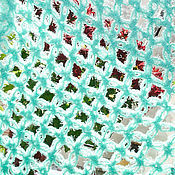 """Аксессуары ручной работы. Ярмарка Мастеров - ручная работа Легкий и теплый шарфик из """"травки"""": """"Летний бриз"""". Handmade."""