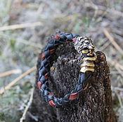 Украшения handmade. Livemaster - original item Bracelet - Lion. Handmade.