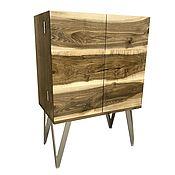 Для дома и интерьера handmade. Livemaster - original item Wine cabinet made of solid walnut. Handmade.