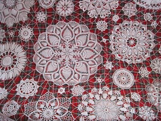 Текстиль, ковры ручной работы. Ярмарка Мастеров - ручная работа. Купить Скатерть № 11. Handmade. Белый, кружевная скатерть