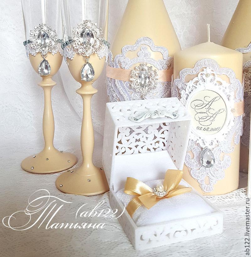 Свадебные аксессуары своими руками в персиковом цвете 65